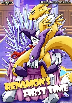 Renamon's First Time Hentai Comics