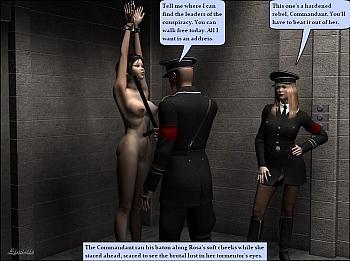 Porn Comics - Rosa's Torment Sex Comics