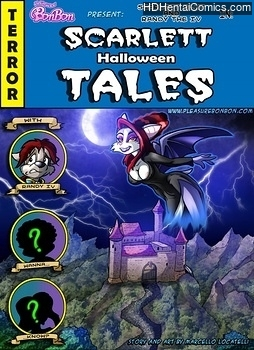 Porn Comics - Scarlett Halloween Tales Adult Comics