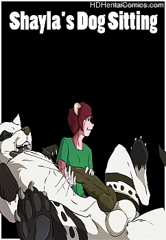 Porn Comics - Shayla's Dog Sitting Sex Comics