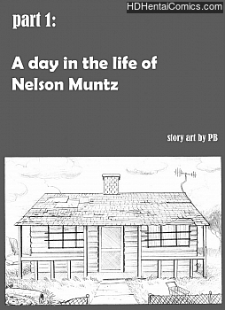 Porn Comics - Simpsons – A Day In The Life Of Nelson Muntz Comic Porn