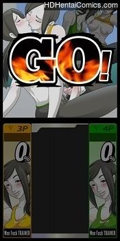 Porn Comics - Super Sexual Battle Mirror Match 2 – Player 3 VS Player 4 Hentai Manga