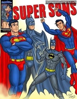 Porn Comics - Super Sons Comic Porn
