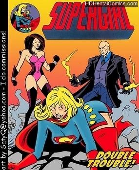 Porn Comics - Supergirl Double Trouble Hentai Manga