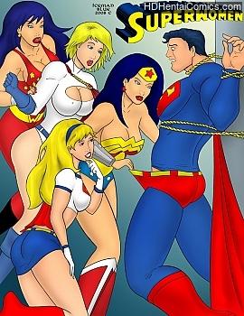 Porn Comics - Superwomen Porn Comics