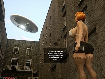 Porn Comics - The Alien Abduction Of Batbabe XXX Comics