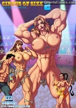 Porn Comics - The Circus Of Size 2 Hentai Manga
