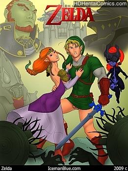 Porn Comics - The Legend Of Zelda Sex Comics