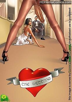 Porn Comics - The Wedding XXX Comics