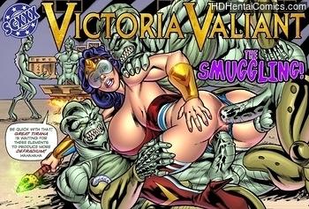 Victoria Valiant – The Smuggling Adult Comics